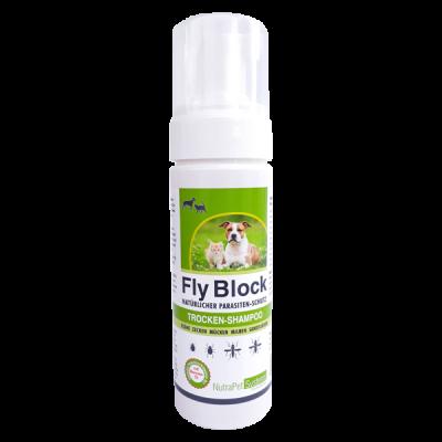 Fly-Block-Trocken-Shampoo-Hund-Katze-150ml