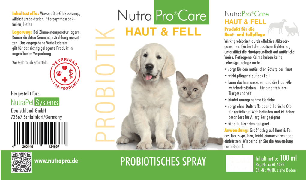 NutraPro®Care HAUT & FELL Spray 150ml Flasche