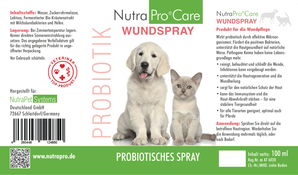 NutraPro®Care WUNDSPRAY 150ml Flasche
