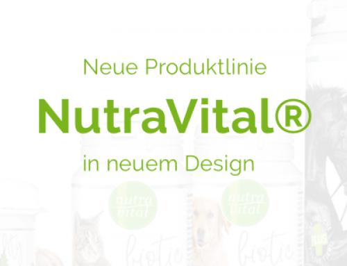Neue Produktlinie NutraVital® mit neuem Design