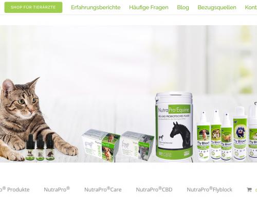NutraPro-Shop exklusiv für Tierärzte